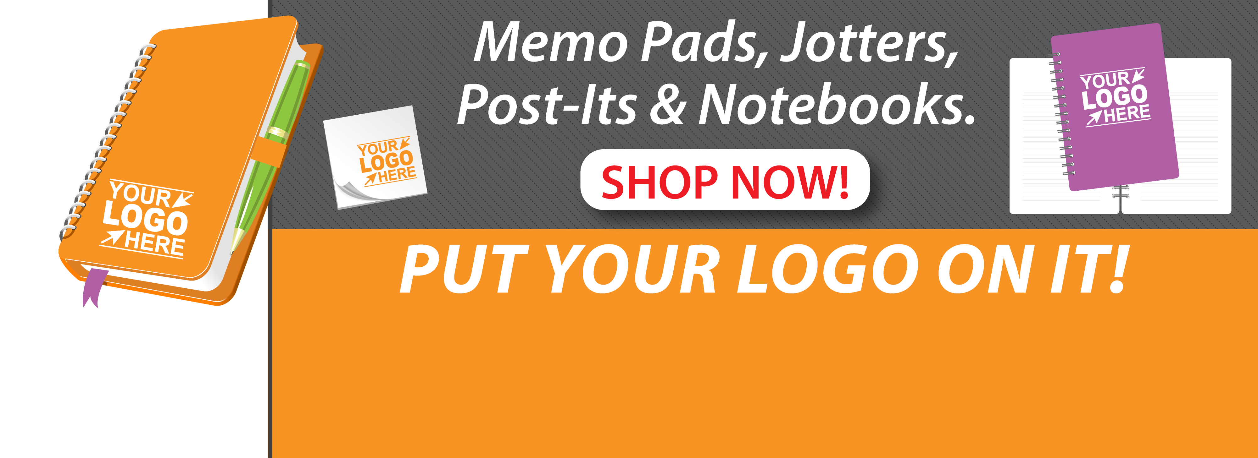 customized memo pads logo on notebook Ocala